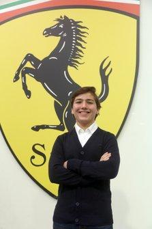 Enzo Fittipaldi, Ferrari Driver Academy.