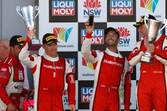 Podium Pro-Am: third place #9 Audi Sport Team MPC Audi R8 LMS: Marc Cini, Lee Holdsworth, Dean Fiore