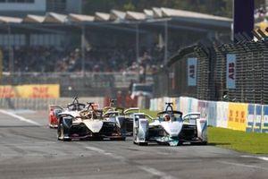 Edoardo Mortara Venturi Formula E, Venturi VFE05 con Nelson Piquet Jr's, Panasonic Jaguar Racing, Jaguar I-Type 3