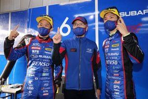 Takuto Iguchi, Hideki Yamauchi, #61 SUBARU BRZ R&D SPORT