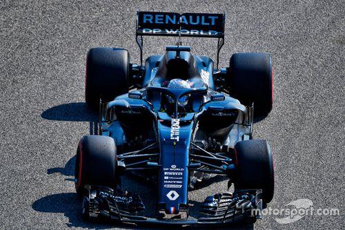 Test de Fernando Alonso avec Renault à Bahreïn