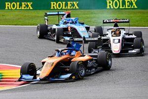 Alexander Peroni, Campos Racing, Sebastian Fernandez, ART Grand Prix and Matteo Nannini, Jenzer Motorsport