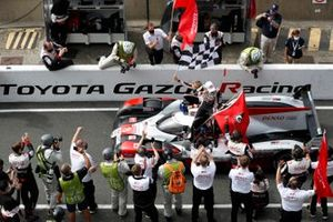 Race winners #8 Toyota Gazoo Racing Toyota TS050: Sébastien Buemi, Kazuki Nakajima, Brendon Hartley