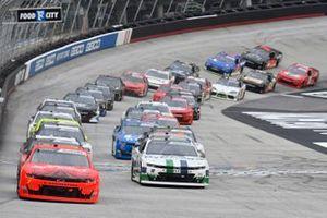 Justin Allgaier, JR Motorsports, Chevrolet Camaro BRANDT, Ross Chastain, Kaulig Racing, Chevrolet Camaro Dyna-Gro Seed