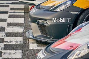 Porsche nose and headlight detail