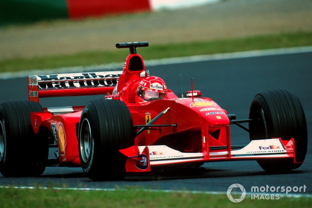 Michael Schumacher, Ferrari F1 2000, campeón del mundo en 2000