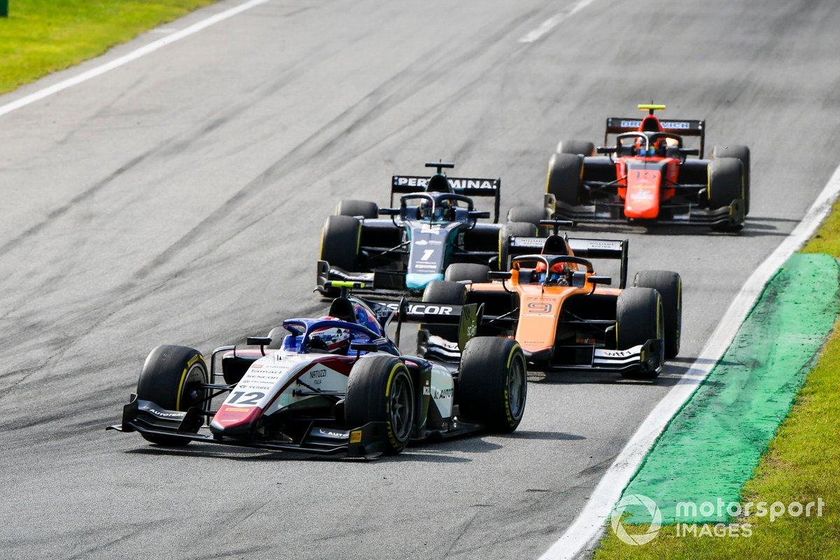 Pedro Piquet, Charouz Racing System, Jack Aitken, Campos Racing y Juri Vips, Dams