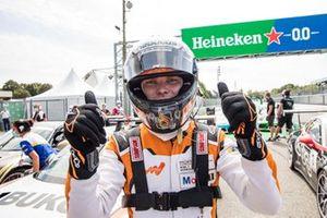 Race winner Larry ten Voorde, Team GP Elite