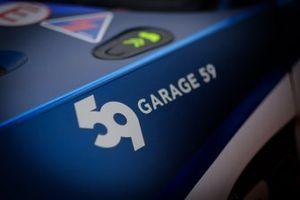 #159 Garage 59 Aston Martin Vantage AMR GT3: Andrew Watson, James Pull, Valentin Hasse Clot, Roman De Angelis, detail