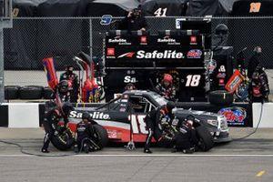 Christian Eckes, Kyle Busch Motorsports, Toyota Tundra Safelite AutoGlass