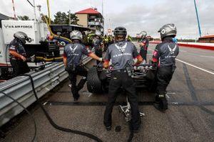 Conor Daly, Ed Carpenter Racing Chevrolet, crew