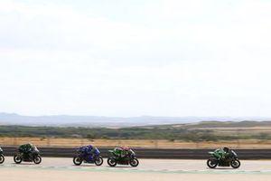 Koen Meuffels, MTM Kawasaki Motoport, Scott Deroue, MTM Kawasaki Motoport, Bahattin Sofuoglu, Biblion Motoxracing Yamaha WorldSSP300
