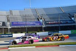 J.J. Yeley, Rick Ware Racing, Ford Mustang, Gray Gaulding, SS Green Light Racing, Chevrolet Camaro Panini