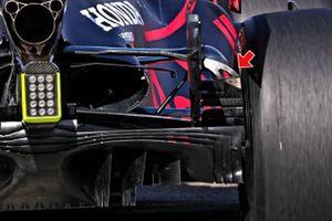 Red Bull Racing RB16 achterkant detail