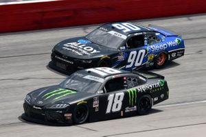 Riley Herbst, Joe Gibbs Racing, Toyota Supra Monster Energy, Dexter Bean, DGM Racing, Chevrolet Camaro