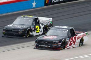 Chase Purdy, GMS Racing, Chevrolet Silverado BamaBuggies.com, Jordan Anderson, Jordan Anderson Racing, Chevrolet Silverado Bommarito.com