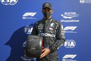 Polesitter Lewis Hamilton, Mercedes F1