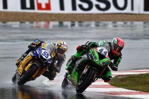 Lucas Mahias, Kawasaki Puccetti Racing, Andrea Locatelli, BARDAHL Evan Bros. WorldSSP Team
