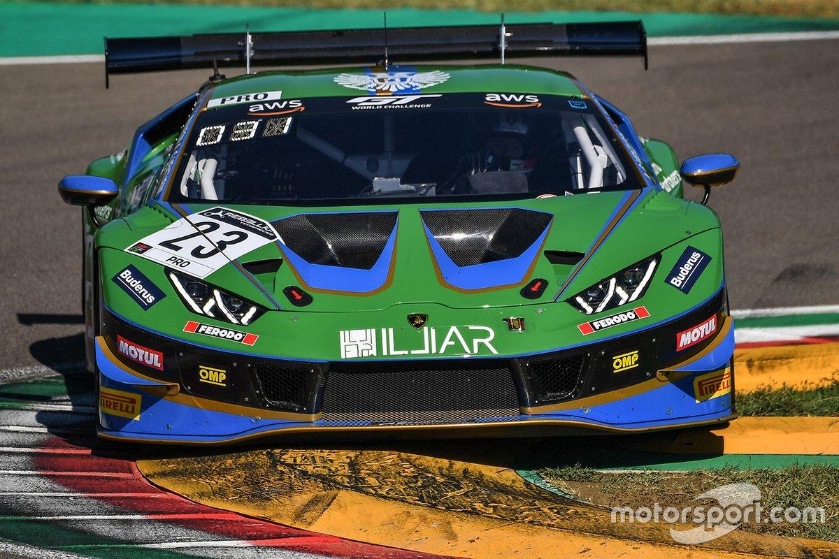 La Lamborghini Huracan di Imperiale Racing nel GT World Challenge