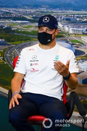 Valtteri Bottas, Mercedes-AMG F1, in the press conference