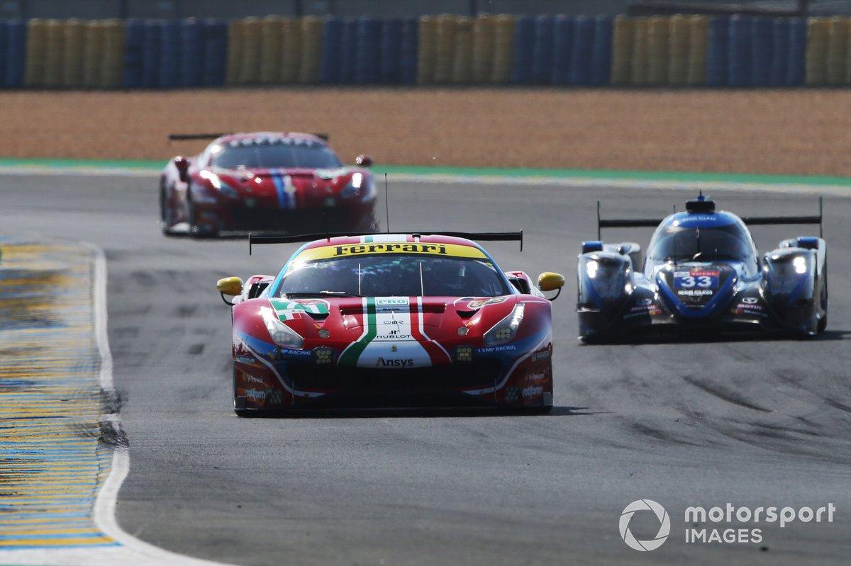 #71 AF Corse Ferrari 488 GTE EVO: Davide Rigon, Miguel Molina, Sam Bird