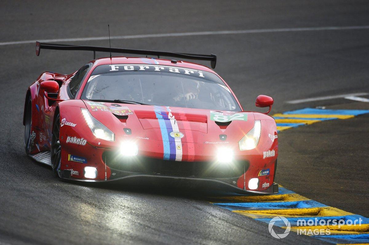 #82 Risi Competizione Ferrari 488 GTE Evo: Olivier Pla, Sébastien Bourdais, Jules Gounon