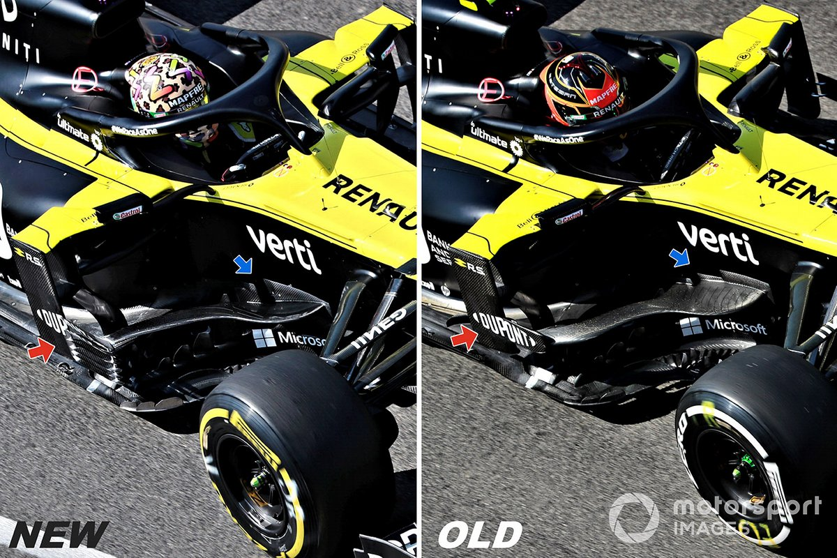 Renault F1 Team R.S.20 comparison