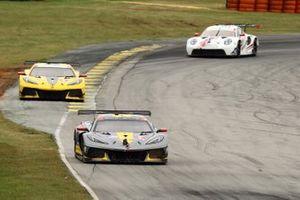 #4: Corvette Racing Corvette C8.R, GTLM: Tommy Milner, Nick Tandy, #3: Corvette Racing Corvette C8.R, GTLM: Antonio Garcia, Jordan Taylor, #79: WeatherTech Racing Porsche 911 RSR - 19, GTLM: Cooper MacNeil, Kevin Estre