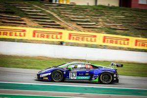 #163 Emil Frey Racing Lamborghini Huracan GT3 Evo: Albert Costa, Norbert Siedler, Giacomo Altoè