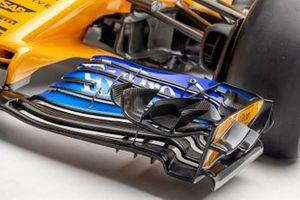 Detail photo of Fernando Alonso's 2018 McLaren MCL33