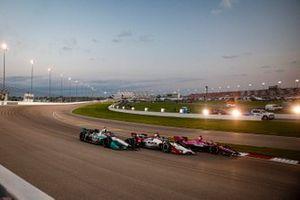 Jack Harvey, Meyer Shank Racing Honda, Takuma Sato, Rahal Letterman Lanigan Racing Honda, Dalton Kellett, A.J. Foyt Enterprises Chevrolet