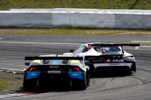 Esteban Muth, T3-Motorsport Lamborghini Huracan Evo GT3, Lucas Auer, Mercedes AMG Team Winward Mercedes AMG GT3