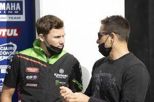 Florian Marino und Randy De Puniet