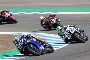 Garrett Gerloff, GRT Yamaha WorldSBK Team, Eugene Laverty, BMW Motorrad WorldSBK Team