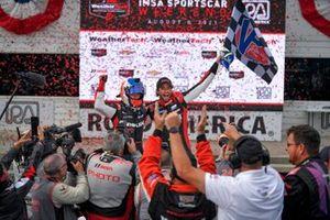 Ganadores #31 Action Express Racing Cadillac DPi: Felipe Nasr, Pipo Derani