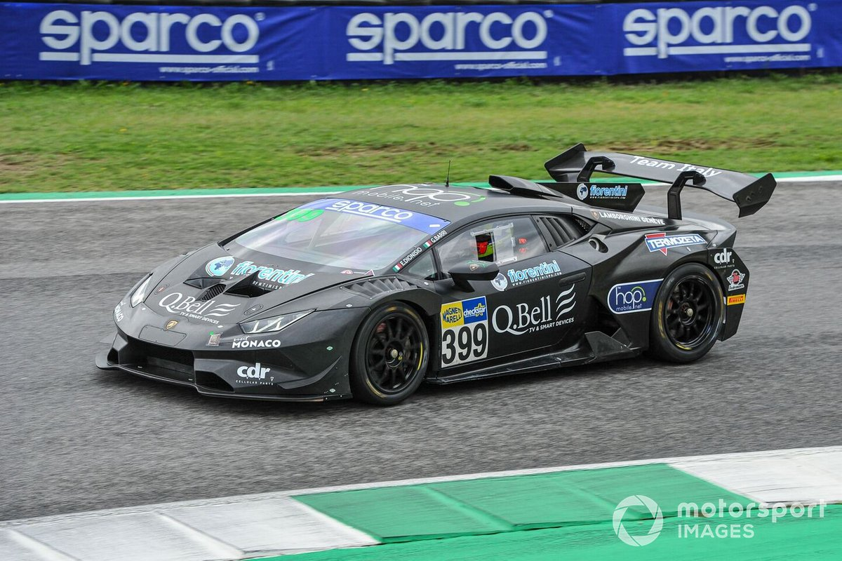 #399 Team Italy, Lamborghini Huracán Super Trofeo Evo: Ermanno Dionisio, Giacomo Barri