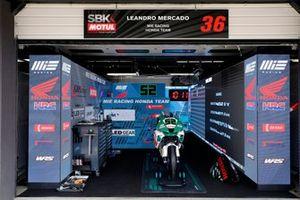 Garaje de Alessandro Delbianco, MIE Racing Honda Racing
