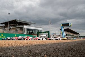 Groepsfoto deelnemers 24 uur van Le Mans 2021
