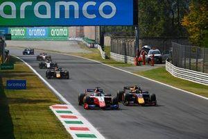 Robert Shwartzman, Prema Racing, Juri Vips, Hitech GrPrix, Liam Lawson, Hitech GrPrix