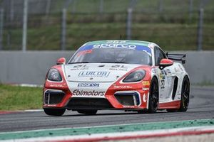 #252 Ebimotors, Porsche 718 Cayman GT4: Gianluca Carboni, Emanuele Romani