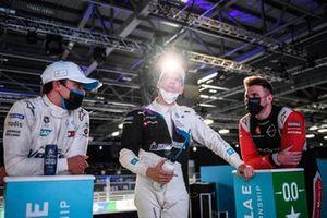 Nyck de Vries, Mercedes-Benz EQ, Maximilian Gunther, BMW i Andretti Motorsport, Oliver Rowland, Nissan e.Dams