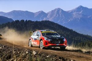 Oliver Solberg, Aaron Johnston, Hyundai i20 N Rally2