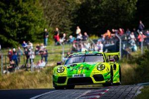 #911 Manthey-Racing Porsche 911 GT3 R: Michael Christensen, Kevin Estre