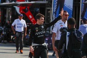 Patricio O'Ward, Arrow McLaren SP Chevrolet, fans
