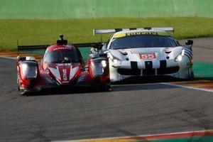 #60 Iron Lynx Ferrari 488 GTE EVO LMGTE, Claudio Schiavoni, Giorgio Sernagiotto, Paolo Ruberti