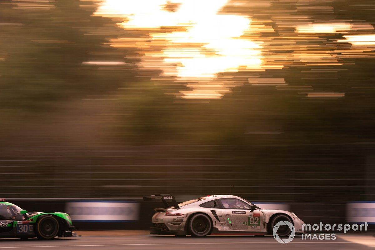 #92 Porsche GT Team Porsche 911 RSR - 19 LMGTE Pro, Kevin Estre, Neel Jani, Michael Christensen