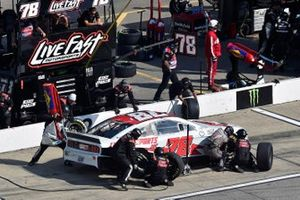 B.J. McLeod, Live Fast Motorsports, Ford Mustang Keen Parts