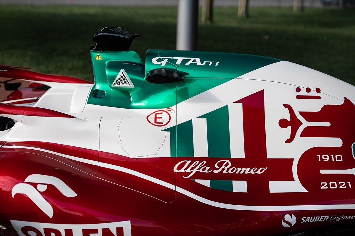 Livrea Alfa Romeo per il GP d'Italia