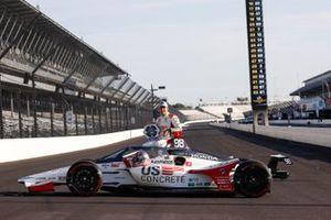 Pole Winner Marco Andretti, Andretti Herta with Marco & Curb-Agajanian Honda
