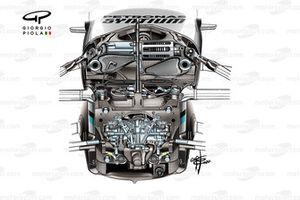 Mercedes AMG F1 W11 dirección asistida DAS
